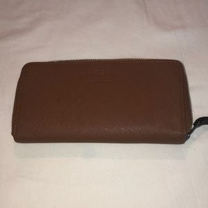 Leather RUDSAK wallet, perfect condition